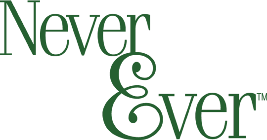 Never Ever Logo